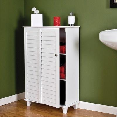 wildon home vermont bathroom storage cabinet in white
