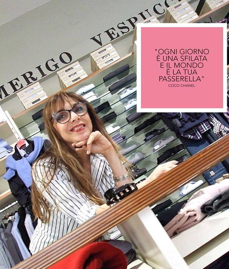 >> Una citazione per voi << Dalle parole di Coco Chanel...  #aforisma #modena #amerigovespucci  Seguici sulla nostra pagina Facebook: www.facebook.com/AmerigoVespucciAbbigliamento