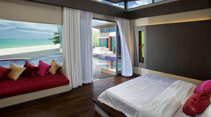 Bedroom at Aava Resort & Spa, Khanom