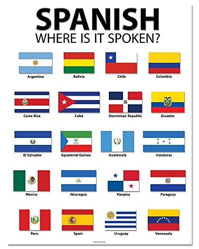 Spanish Speaking Countries 20 quot