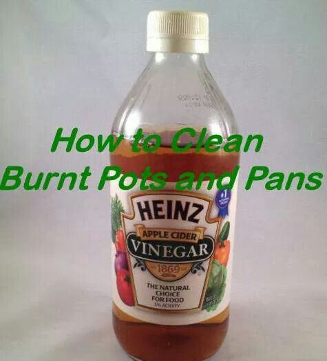 how to clean burnt pots and pans healthy hints pinterest clean burnt pots pots and cleanses. Black Bedroom Furniture Sets. Home Design Ideas