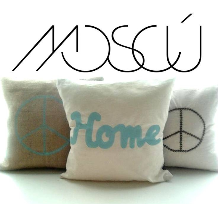 MOSCÚ pillows - My own project