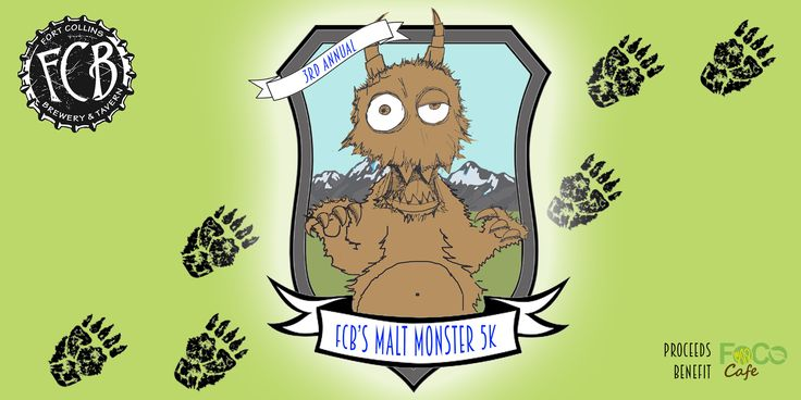 Free your inner Monster! Join this monstrously fun 5K to benefit FoCo Cafe, a nonprofit pay-what-you-can cafe.