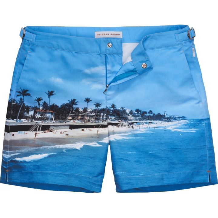 Bulldog - The Classic Beach Short - Photographic (Down Palm Beach)