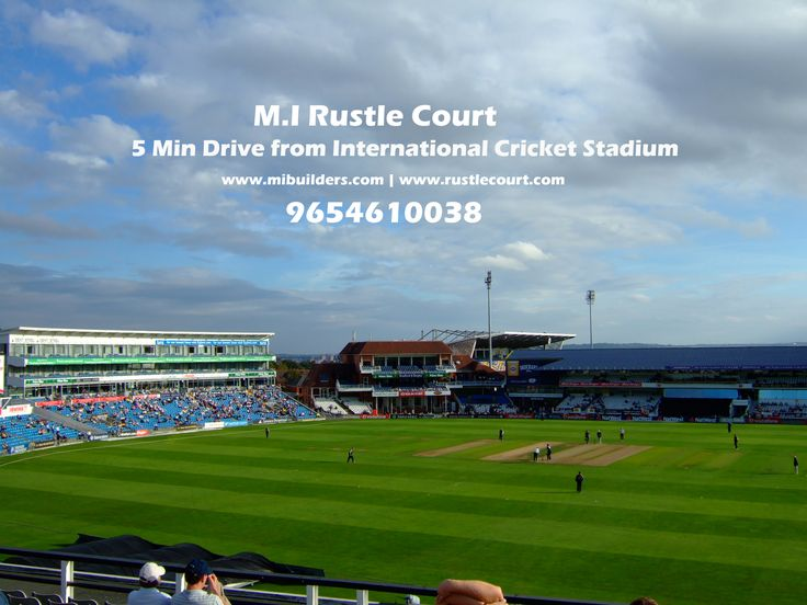 #mirustlecourt #rustlecourt #mibuilders Here giving you best reason why to book Apartments in Rustle Court. 1- >> 5 Min Drive from International Cricket Stadium.  Call for booking at 9654610038 or visit www.rustlecourt.com