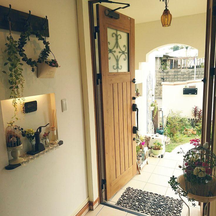 せっかくなら欧風スタイルにしたい!フレンチアンティークな暮らしと ... プロヴァンス風な玄関