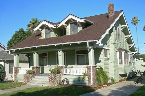 One and a half story house with front porch homes so - What is a craftsman style house ...