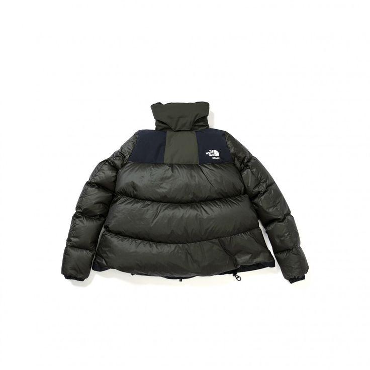 Sacai x The North Face Women's Down Jacket (Khaki)