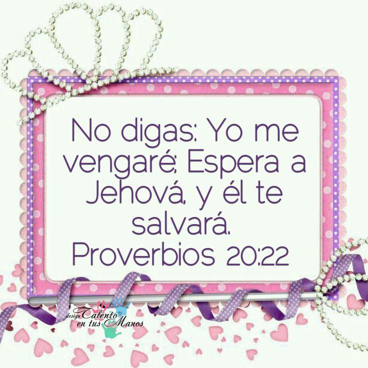 Proverbios 20:22