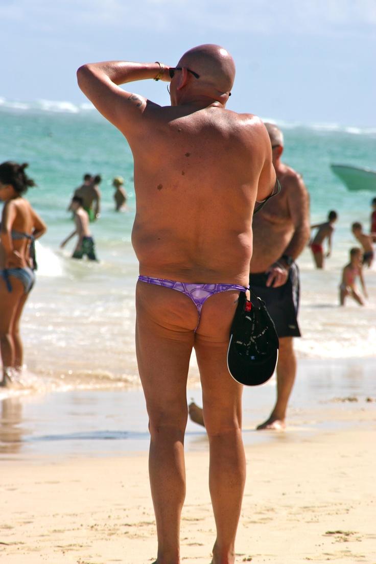 not everyone should wear a thong, do you think?