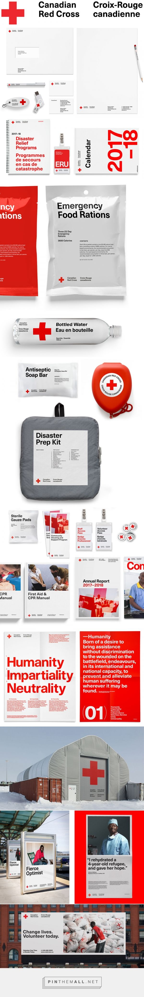 Brand New: New Logo and Identity for Canadian Red Cross by Concrete... - a grouped images picture - Pin Them All