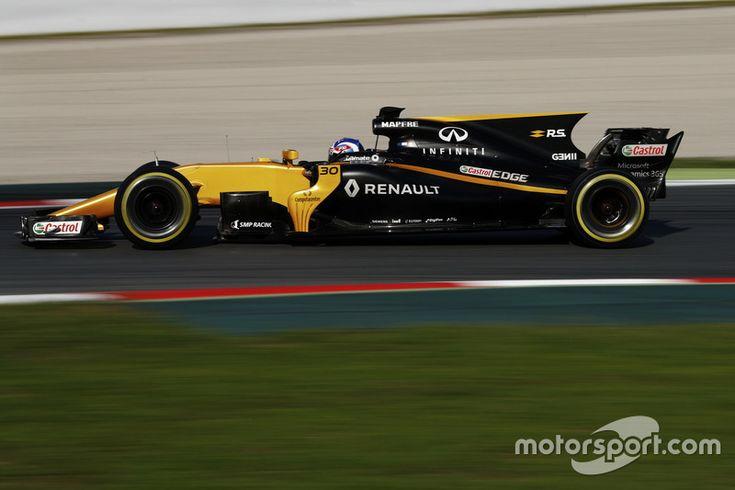 #30 Jolyon Palmer, Renault Sport F1 Team RS17