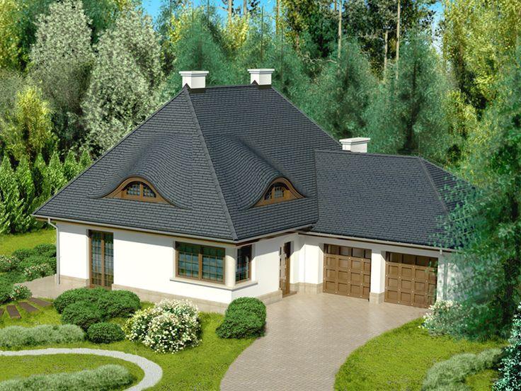 Charakterystyczna bryła i starannie rozplanowany układ wnętrza na pewno wyróżniają ten projekt spośród innych.