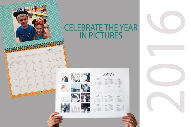 Photo calendars make excellent gifts! With tons of options you can create a custom calendar highlighting special dates like birthdays and anniversaries, or go with something more simple. It's all up to you. And gifting orders of $50 or more get free shipping until November 28, 2015.