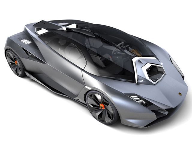Students often design the most outrageous (awesome) Lamborghini concept cars.