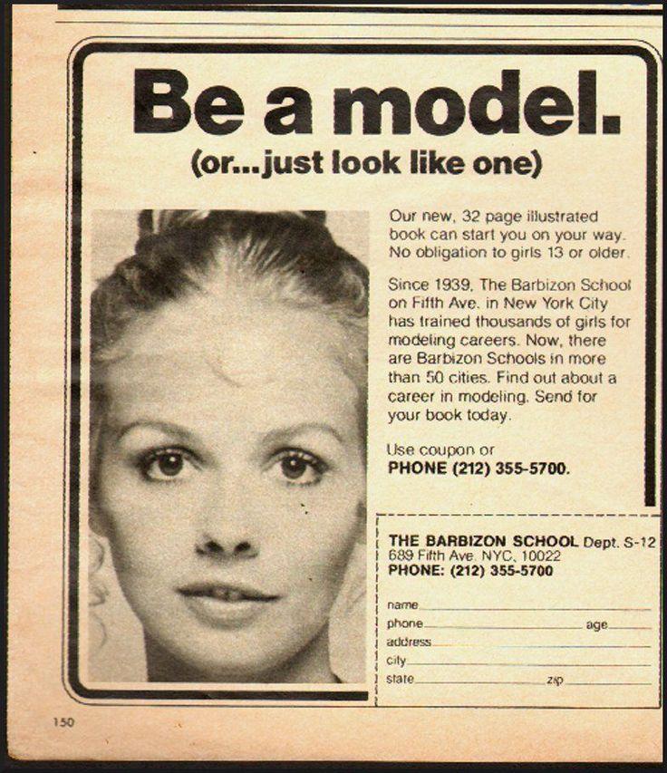 17 Best images about Barbizon Modelling School on Pinterest ...