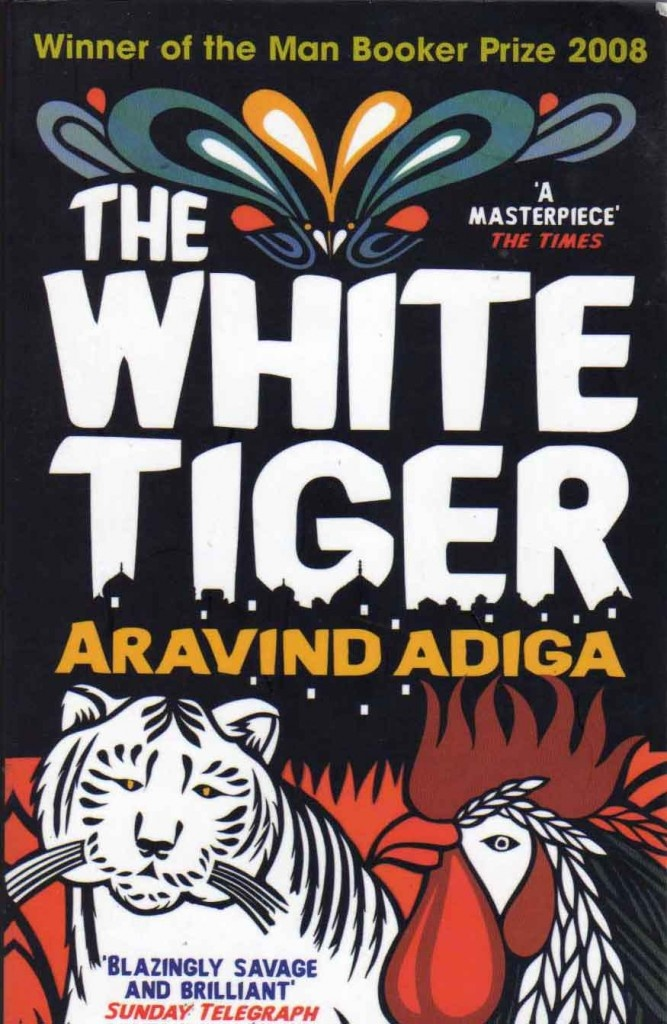 The White Tiger by Aravind Adiga. I liked it...different compared to what most Indian authors churn out.