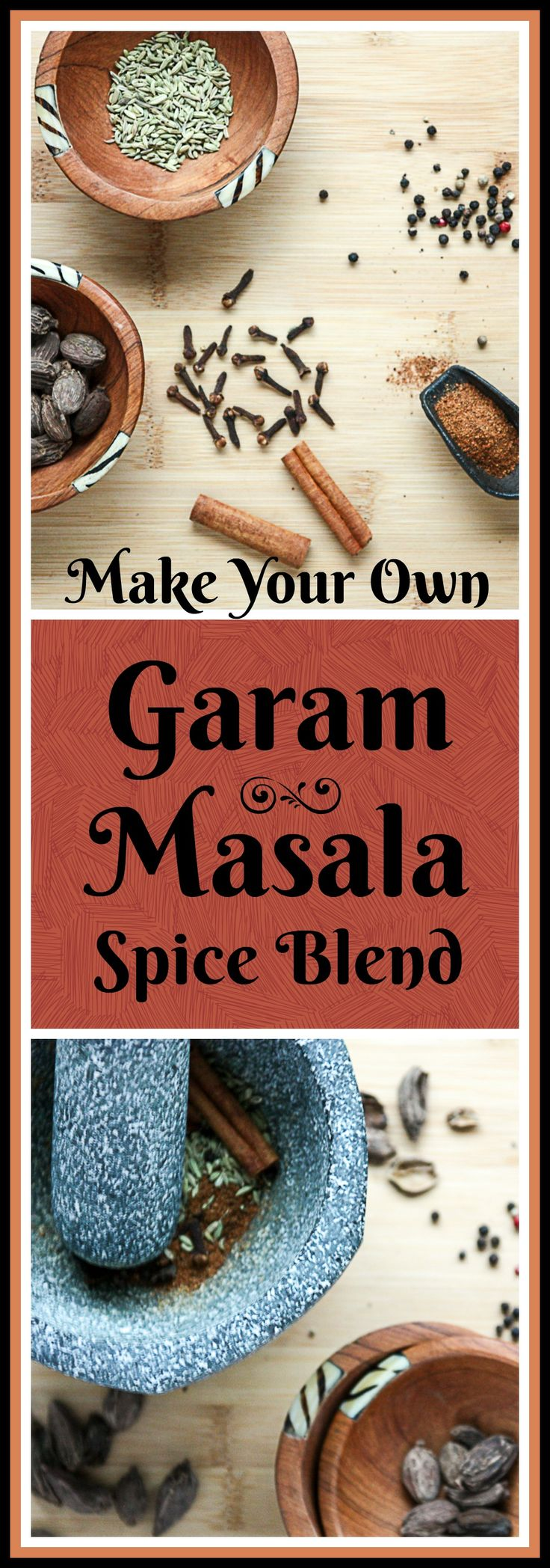 Garam Masala is a wonderful spice blend to warm up your dishes and add some interest to the new year. But don't buy a packaged mix. Making your own is easy, and the flavour difference is worth it.
