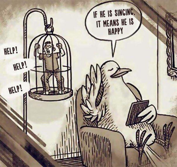 Жуткие иллюстрации того, как люди обращаются с животными