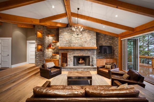 20 Sunken Living Room Design Ideas Fabulous Addition To Every Interior Sunken Living Room Big Living Room Design Big Living Rooms