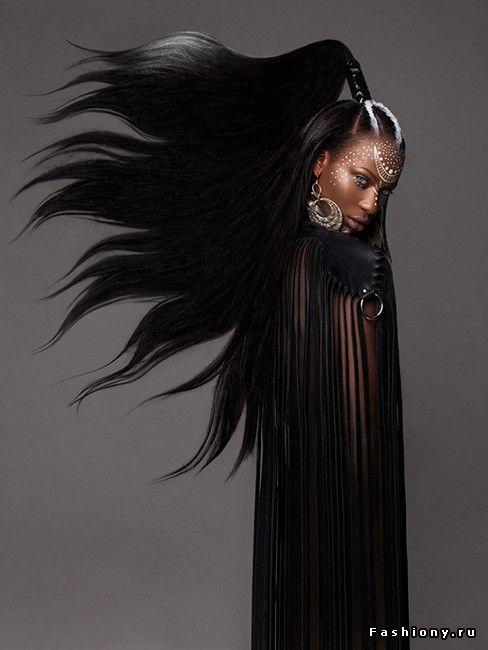 Феноменальная коллекция афро-причесок от Лизы Фаррал