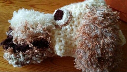 Crochet pet hat