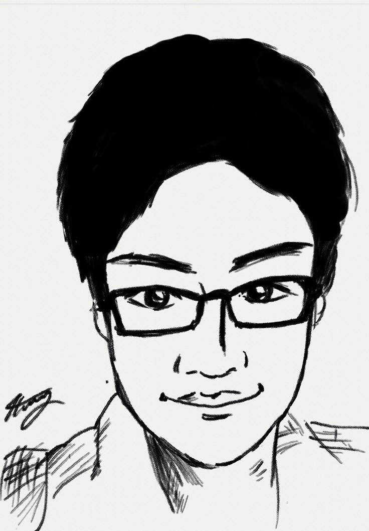 J.H. Hwang - my cousin by Mateo