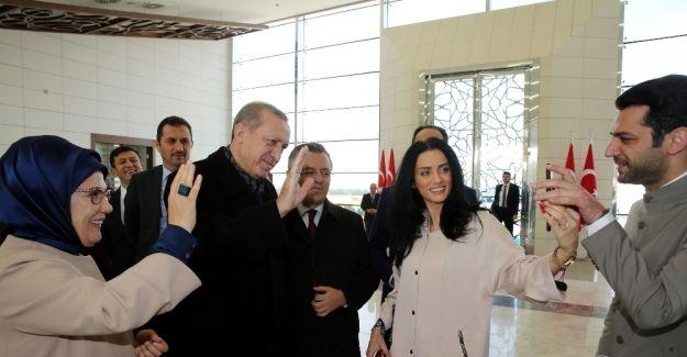Cumhurbaşkanı Erdoğan ünlü oyuncu Murat Yıldırım'a kız istedi