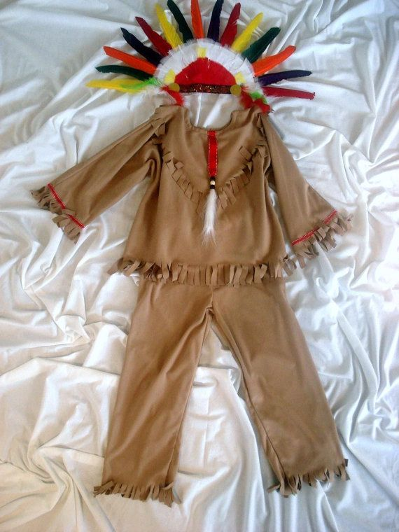 Native American Indian Boy's  children's costume by MainstreetX, $37.00