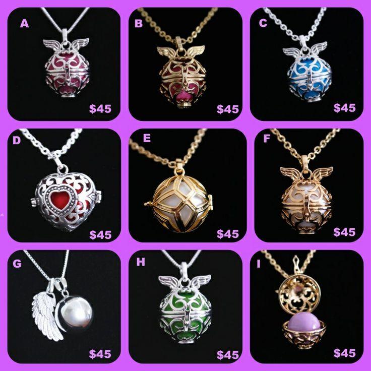 www.upliftingchangejewellery.com.au Harmony Ball Necklaces Beautiful Mothers Day Gift.