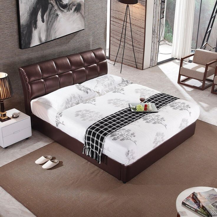 Bett Modern Design Rama Dymasty Genuine Leather Soft Bed Modern Design Bed ...