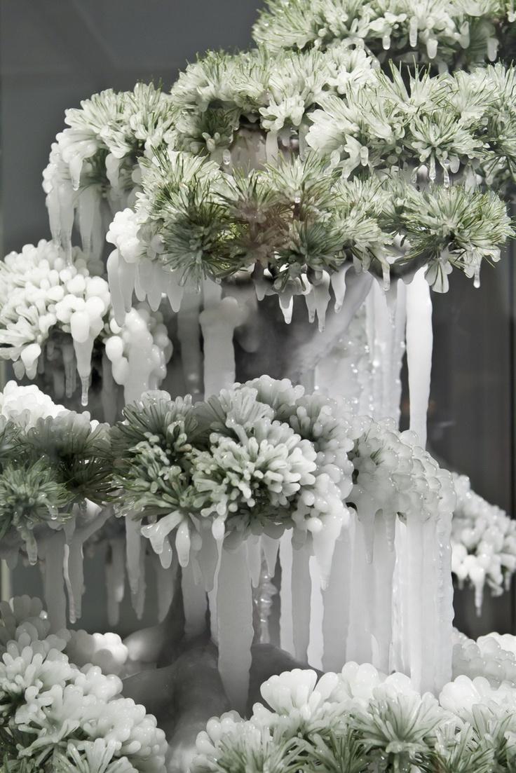 Azuma Makoto - Frozen Pine (2011)  #Sculpture.  BEAUTIFUL.