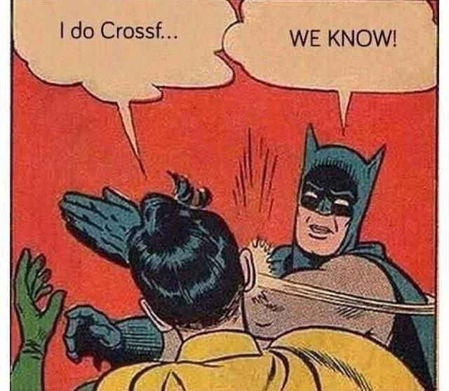Image result for crossfit batman and robin meme