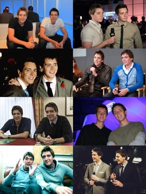 James and Oliver Phelps.... :)<3 I am officially in love. And it's good to like twins cause you have double the chances :)