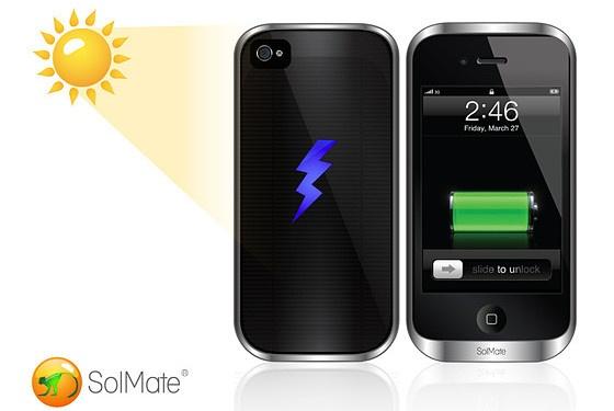 funda y cargador solar para tu iPhone