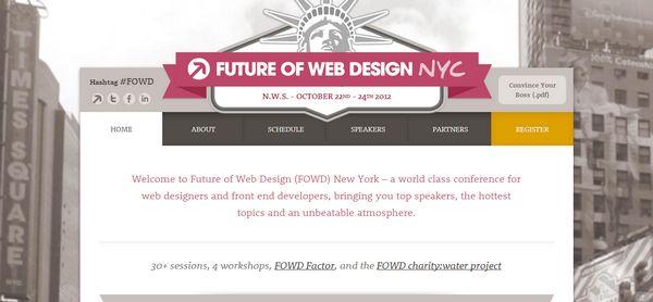 Future of Web Design New York 2012