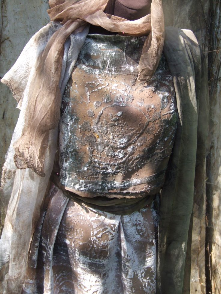 Eco printed   silk devore. and silks ny beata jarmolowska