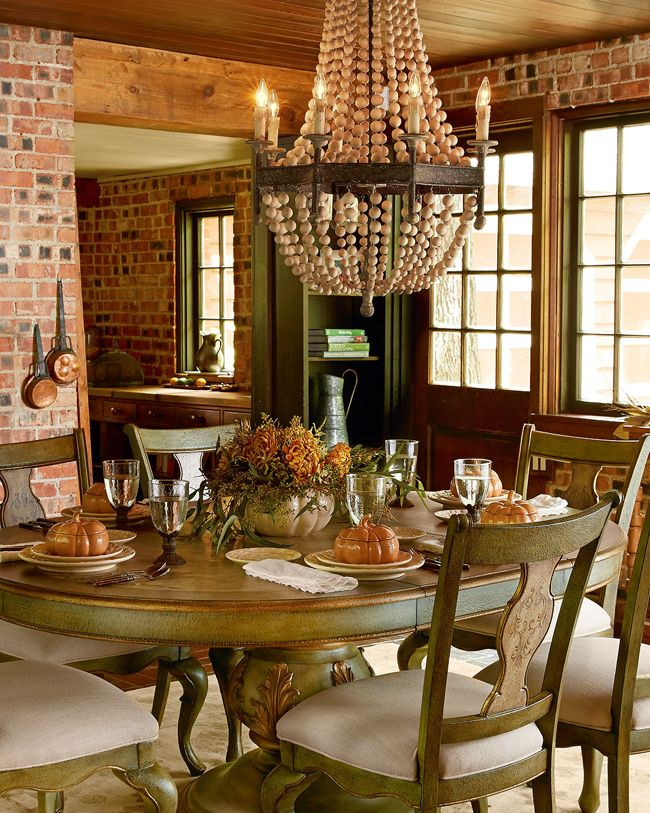 Rustic Decor Fall Collection DINING SPACES Rustic