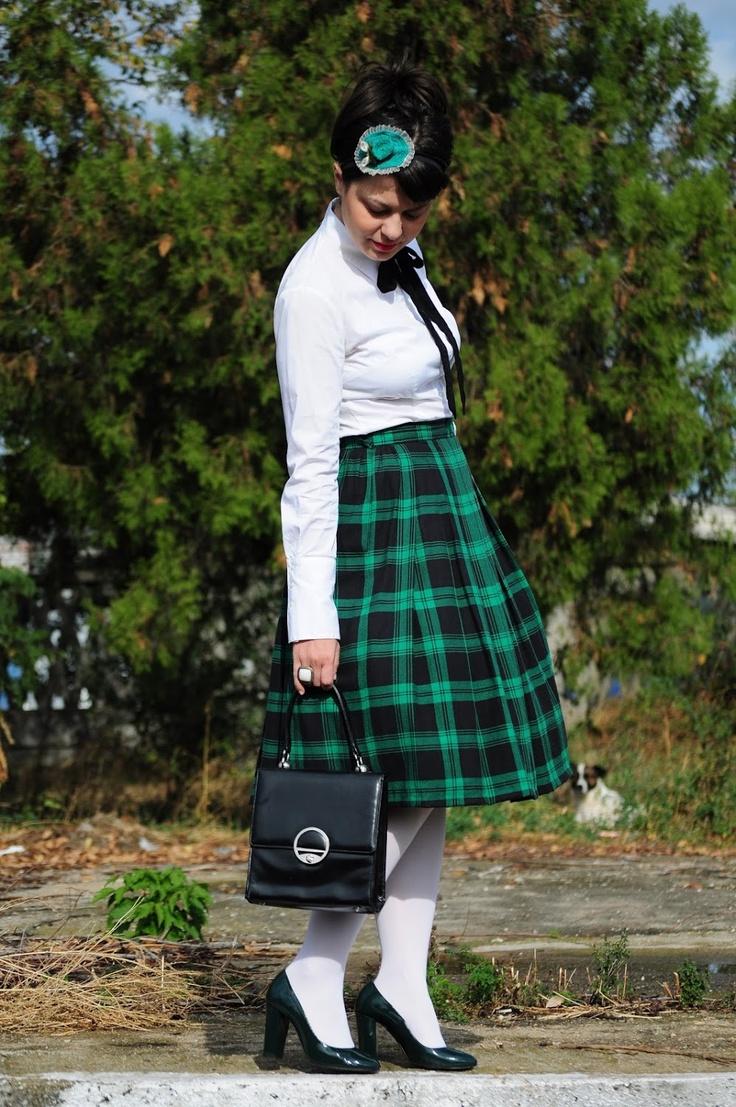 Miss Green: Catholic school girl