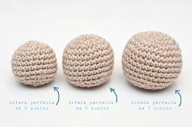 Anatomía de un Amigurumi: Esfera Perfecta Tutorial en Español