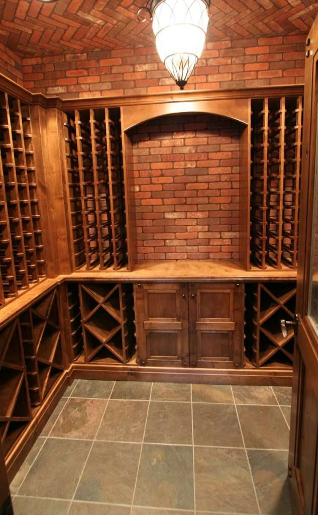 Brick wine cellar 12 5414 creative ideas for your home for Wine cellar pinterest