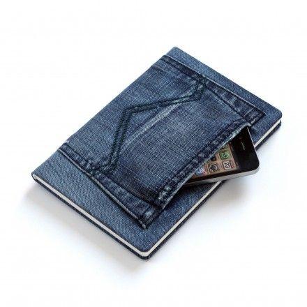 Jeans Notizbuch