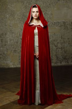 Morgana's red cape...has the power to make her invisible to all guards! Watch the show and try to deny it. I want a cloak