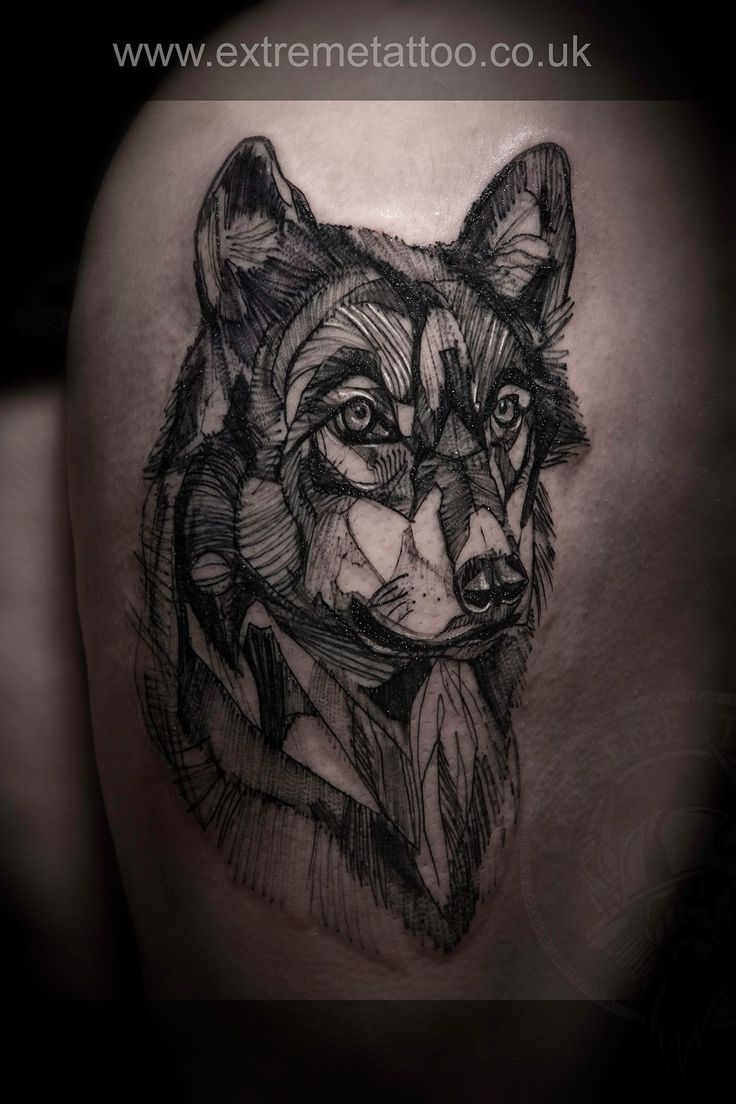Line Art Wolf Tattoo: 1000+ Images About Tatoo On Pinterest
