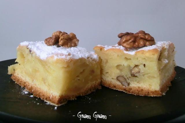 Torta di mele e noci | Ricetta