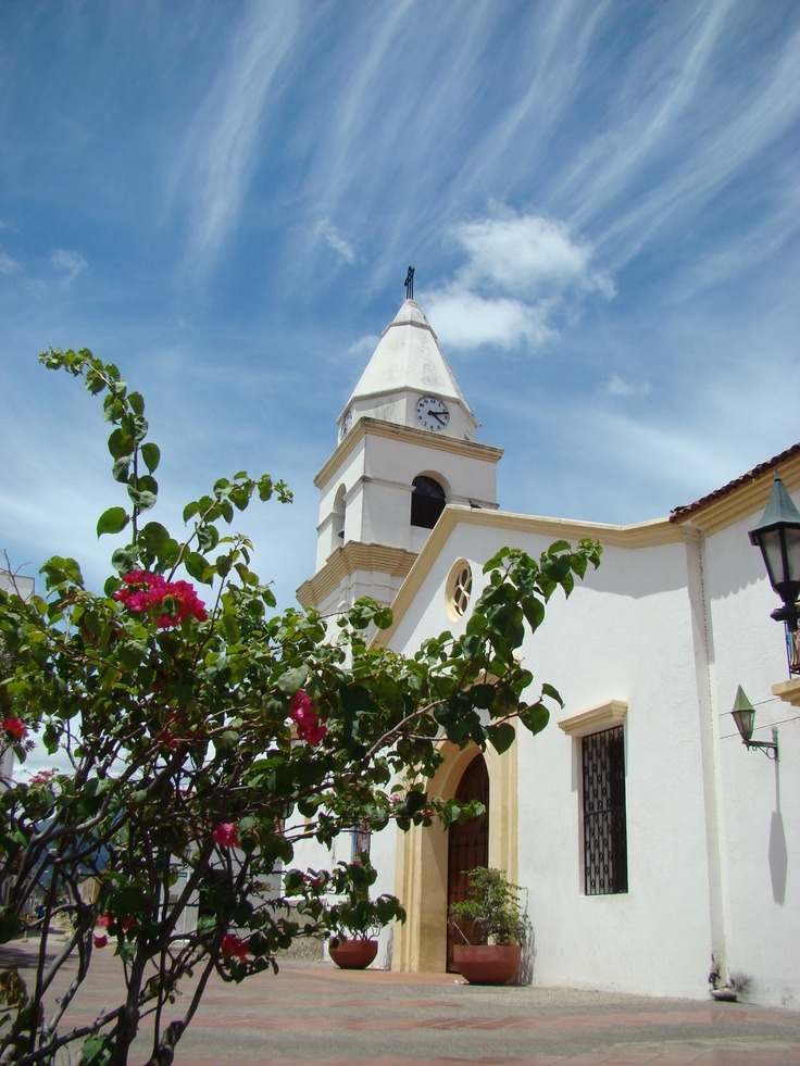 Colonial church in Valledupar, Colombia