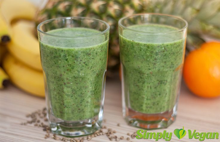 Frischer Grünkohlsmoothie | vegane Rezepte in Drinks, Smoothies & Shakes