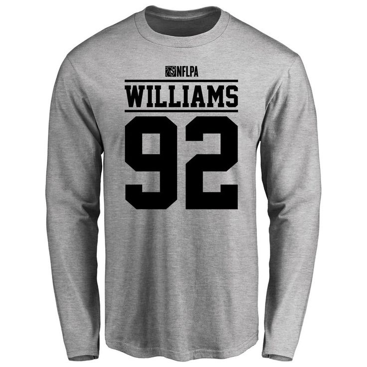Sylvester Williams Player Issued Long Sleeve T-Shirt - Ash