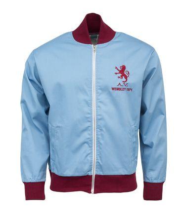 Aston Villa Retro 1971 League Cup Final Jacket