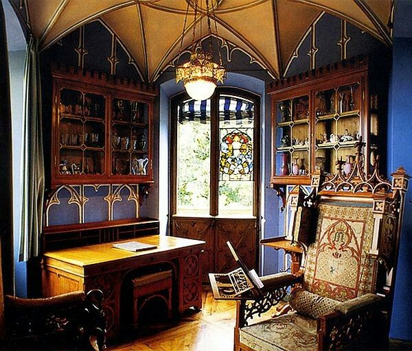 Victorian Gothic Interior